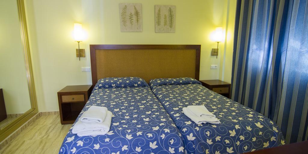 Acogedoras habitaciones para el descanso